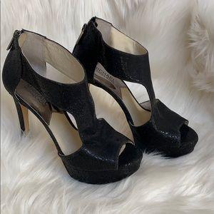 🖤⭐️MICHAEL Kors Dazzling Black Platforms⭐️🖤